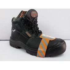 C906 COCARE 黑油皮包頭安全靴