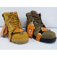 RS92101F 石星磨沙皮高安全靴