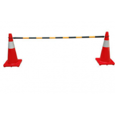 TRAFFIC CONE BAR (2 METER IN LENGTH) 膠棒 (固定長度 2M)